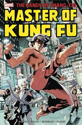 The Hands of Shang-Chi Master of Kung Fu (Hardcover 664-784 pp) #1