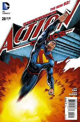 Action Comics Vol. 2 (2011-2016) (Grapa) #28