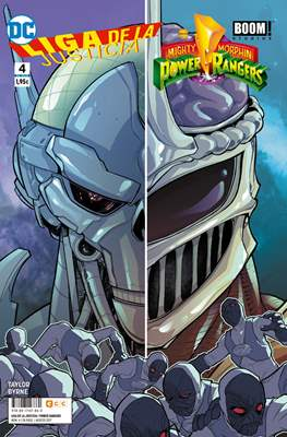 Liga de la Justicia / Mighty Morphin Power Rangers (Grapa 24 pp) #4