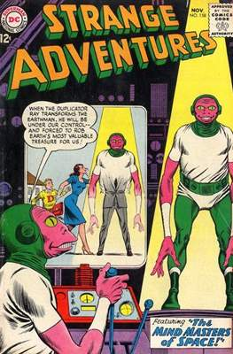 Strange Adventures (Comic Book) #158