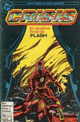 Crisis en Tierras Infinitas (1987) (Grapa. 32 páginas. Color.) #8
