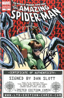 The Amazing Spider-Man (Vol. 2 1999-2014 Variant Covers) (Grapa) #700M