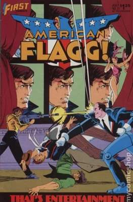American Flagg! (Comic book) #31