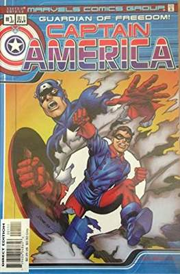 Captain America Guardian of Freedom!
