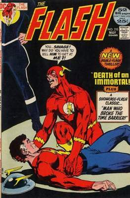 Flash Vol. 1 (1959-1985) (Comic Book 32 pp) #215