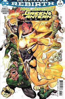 Hal Jordan and the Green Lantern Corps (2016-2018) (Comic-book) #7