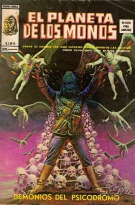 El planeta de los monos Vol. 1 (1977-1979) (Grapa y rústica 84-52 pp) #19