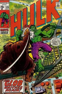 The Incredible Hulk Vol.1 (Saddle-stitched. 1962-1999) #129