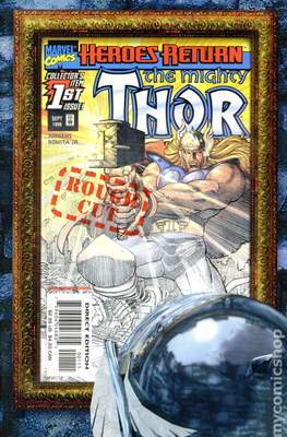 The Mighty Thor (1998-2004 Variant Cover) (Comic Book) #1.1