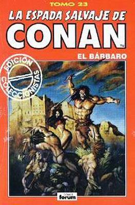 La Espada Salvaje de Conan el Bárbaro. Edición coleccionistas (Rojo) (Cartoné 192 pp) #23