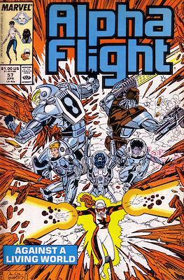 Alpha Flight Vol. 1 (1983-1994) (Comic Book) #57