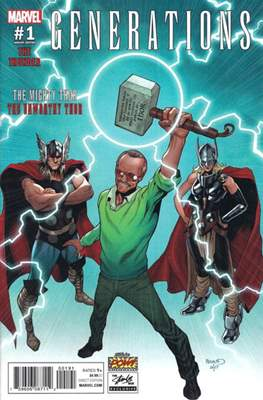 Generations - The Thunder (Variant Cover) (Comic Book) #1.5