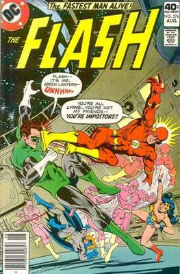 Flash Comics / The Flash (1940-1949, 1959-1985, 2020-) (Comic Book 32 pp) #276