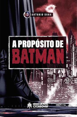 A propósito de Batman (Cartoné) #
