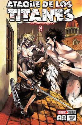 Ataque de los Titanes #8
