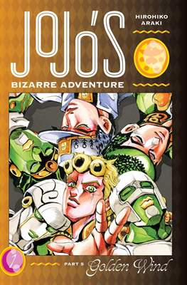 JoJo's Bizarre Adventure: Part 5--Golden Wind