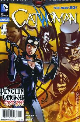 Catwoman Annual (2011) New 52 (Grapa) #1