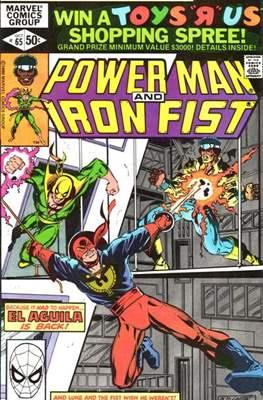 Hero for Hire / Power Man Vol 1 / Power Man and Iron Fist Vol 1 (Comic-Book) #65