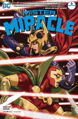 Mister Miracle (Vol. 4, 2017- 2018) #6
