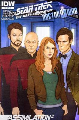 Star Trek: The Next Generation/Doctor Who: Assimilation² (Comic Book 24 pp) #7