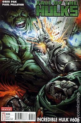 The Incredible Hulk / The Incredible Hulks (2009-2011 Variant Cover) #606.1