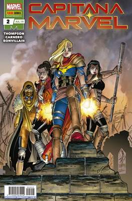 Capitana Marvel (2019-) (Grapa) #2