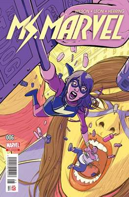 Ms. Marvel (2016-2017) #6