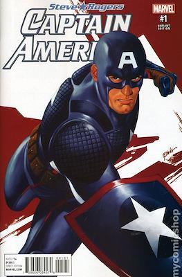 Captain America: Steve Rogers (Variant Cover)