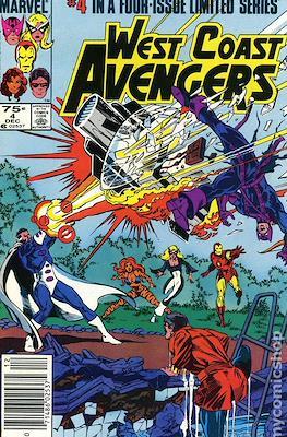 West Coast Avengers Vol 1 (1984) #4