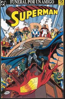 Superman, funeral por un amigo