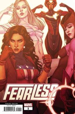 Fearless (2019- Variant Cover) (Comic Book) #1