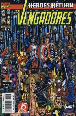 Los Vengadores vol. 3 (1998-2005) (Grapa. 17x26. 24 páginas. Color. (1998-2005).) #2