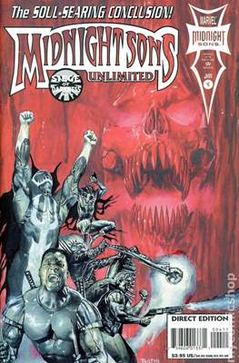 Midnight Sons Unlimited (Comic Book) #4