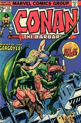Conan The Barbarian (1970-1993) (Comic Book 32 pp) #42