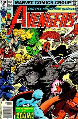 The Avengers Vol. 1 (1963-1996) (Grapa) #188