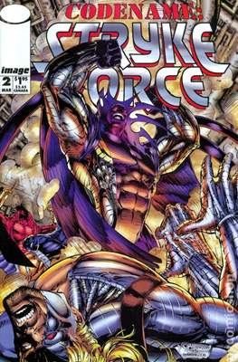 Codename: Strykeforce (1994-1995) (Comic Book) #2