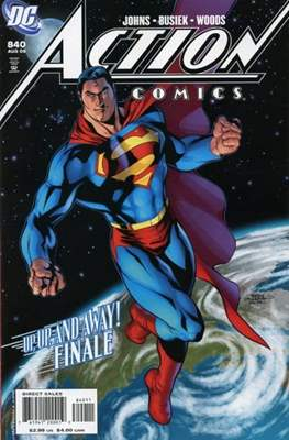 Action Comics Vol. 1 (1938-2011; 2016-) (Comic Book) #840