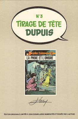 Tirage de Tête Dupuis #3