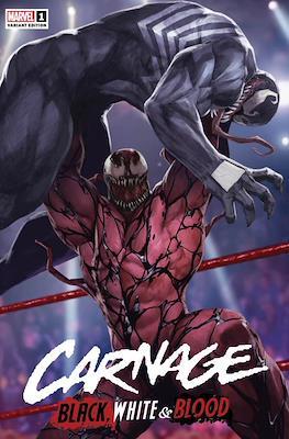 Carnage: Black, White & Blood (Variant Cover) #1.4