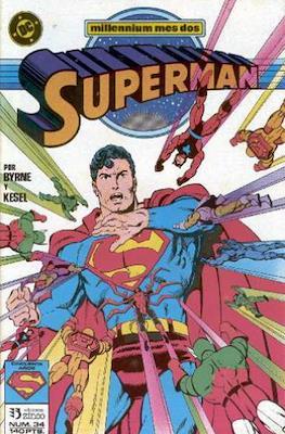 Superman: El hombre de acero / Superman Vol. 2 #34