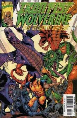Iron Fist: Wolverine - The Return of K'un Lun (Comic Book) #3