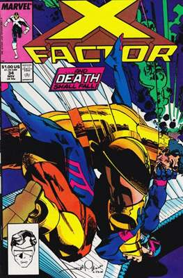 X-Factor Vol. 1 (1986-1998) (Comic Book) #34
