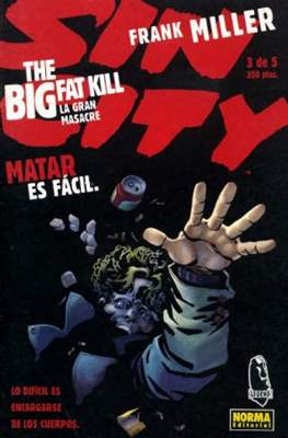 Sin City. La gran masacre (Grapa) #3