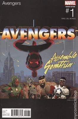 The Avengers Vol. 7 (2016-...Variant Covers ) (Grapa) #1.4