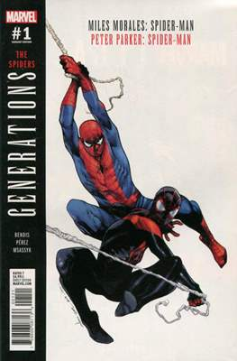 Generations: The Spiders Miles Morales and Peter Parker Spider-Man (Variant Cover)