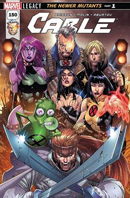 Cable Vol. 3 (2017-2018) (Comic Book) #150