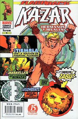 Ka-Zar: Hermanos y rivales (1998). Flashback