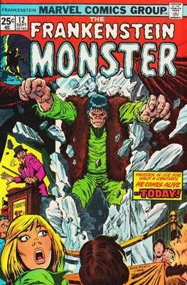 The Frankenstein monster (Grapa) #12