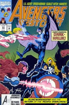 West Coast Avengers Vol. 2 (Comic-book. 1985 -1989) #93