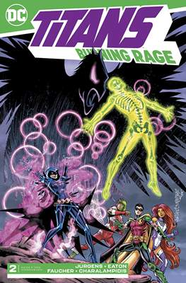 Titans: Burning Rage (Comic Book) #2